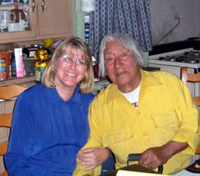 Kymberlee Ruff and Native Wisdom Teacher